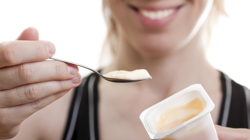 A probiotic commonly found in yogurt seems to help women lose more weight and fat, a recent study finds. But you still have to eat healthy to see an effect.