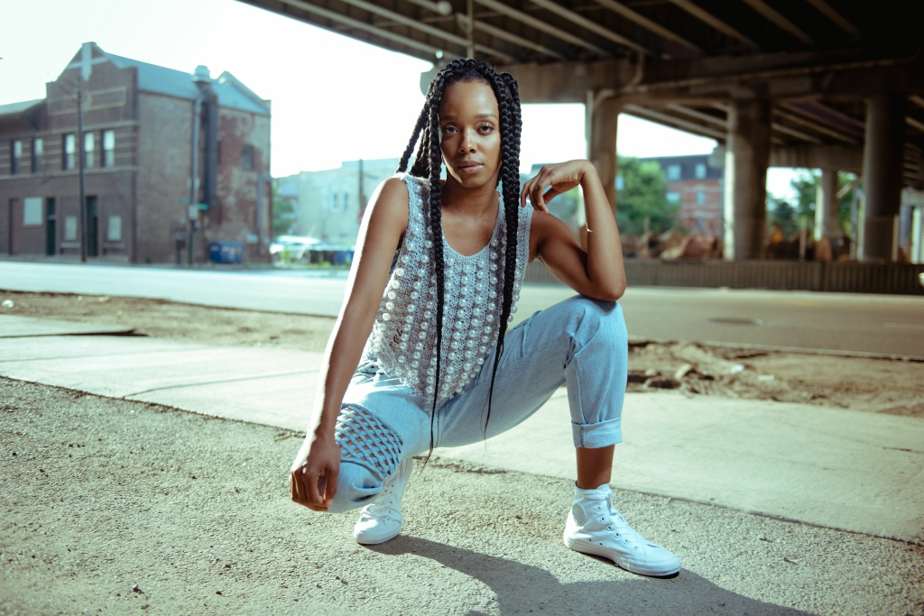 Chicago singer-songwriter Jamila Woods combines her love of poetry with hip hop and gospel music.