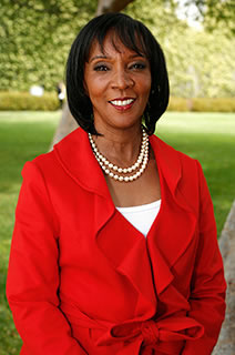 Los Angeles District Attorney-elect Jackie Lacey takes office December 3, 2012.