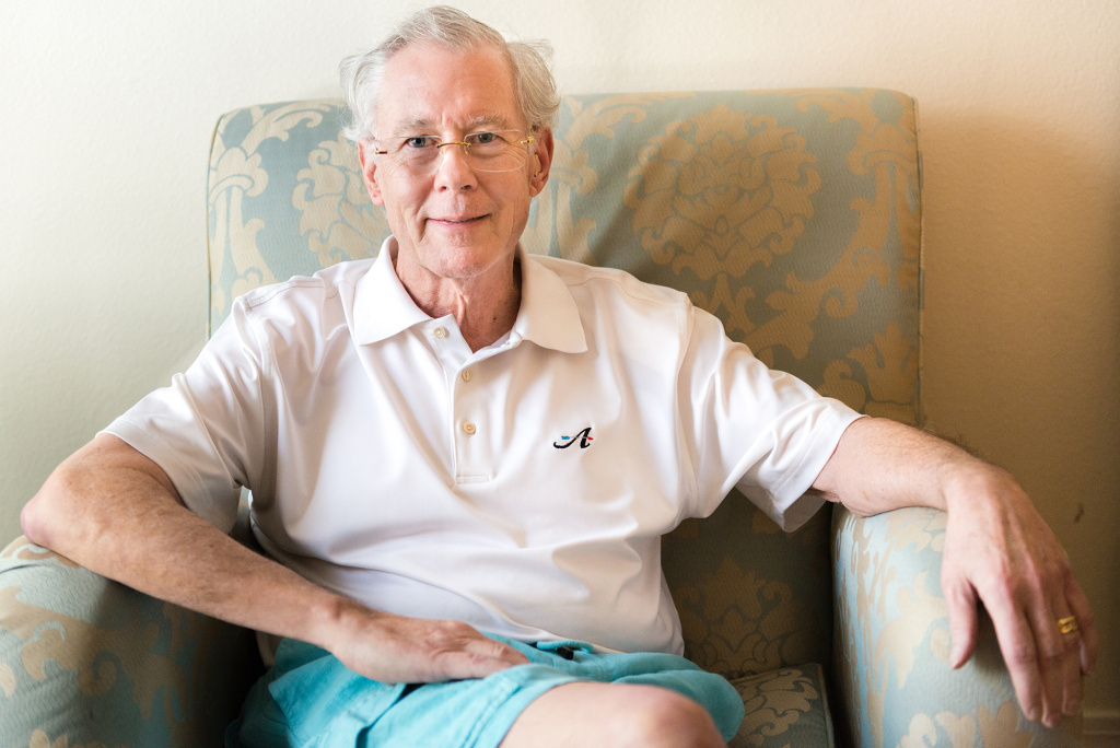 John Evard, 70, at the Las Vegas Recovery Center in Las Vegas last July. Evard, a retired tax attorney, checked into a rehabilitation program to help him quit the prescribed opioids that had left him depressed, groggy and dependent on the drugs.