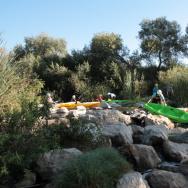l.a. river kayak paddle