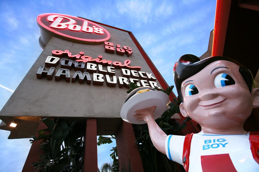 Bob's Big Boy in Burbank, Calif. A popular hangout for burger lovers, retro fanatics and photographers.