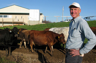 Warren Taylor owns Snowville Creamery, in Pomeroy, Ohio. He gets his milk from 235 brown Jersey cows that graze on a farm owned by his neighbor.