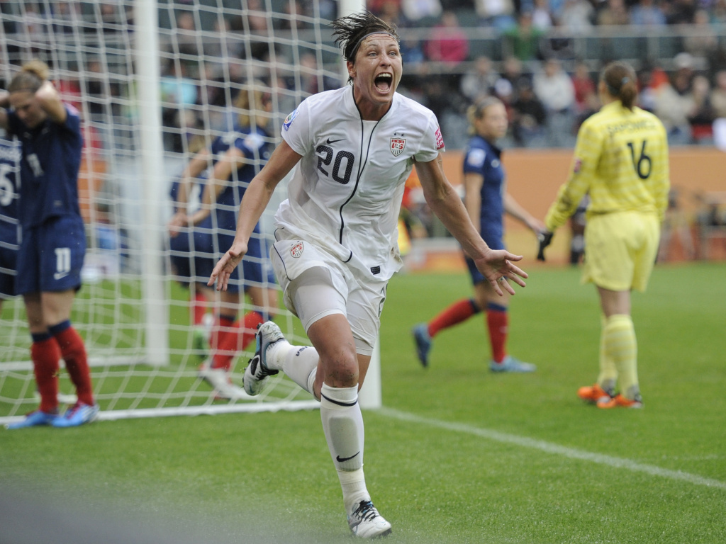 Abby Wambach, US women's soccer star, retires | 89 3 KPCC