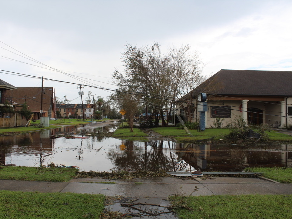 Lake Charles, La., was one of the areas hardest hit by Hurricane Laura earlier this week. Residents have just started returning to survey the damage.