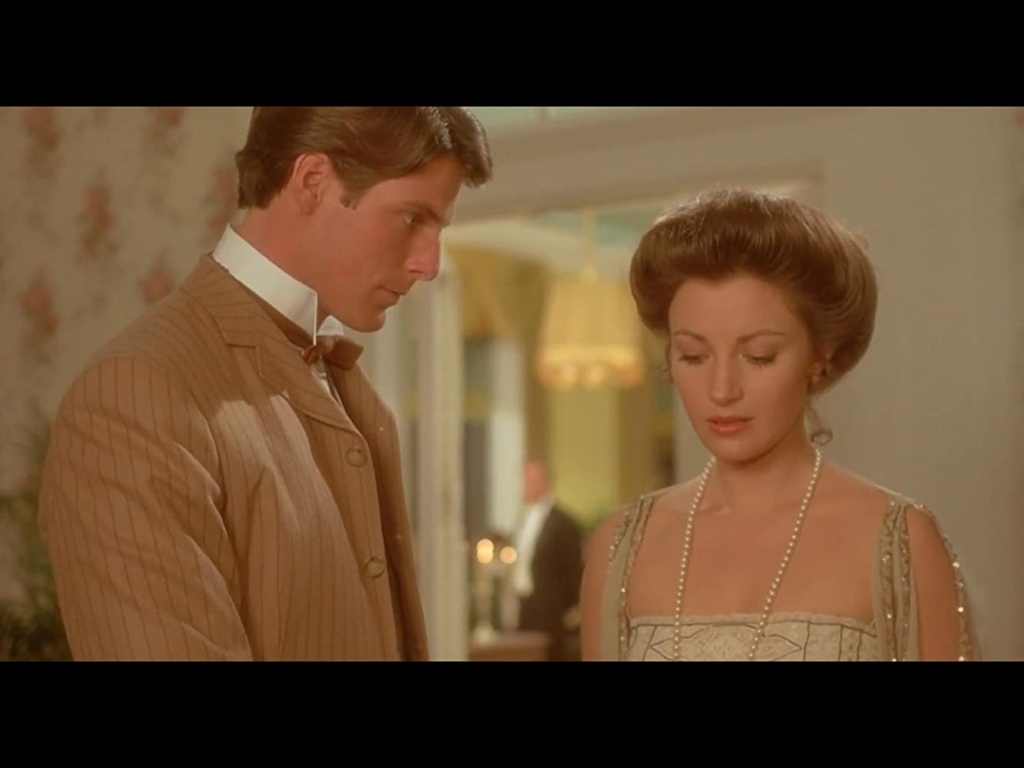 Christopher Reeve and Jane Seymour in