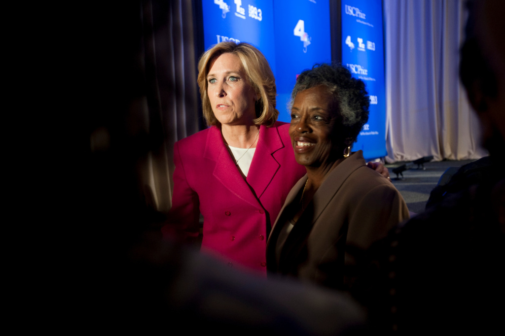 Wendy Greuel said this weekend that she supports $15 an hour wages for hotel workers in LA. The city already requires a