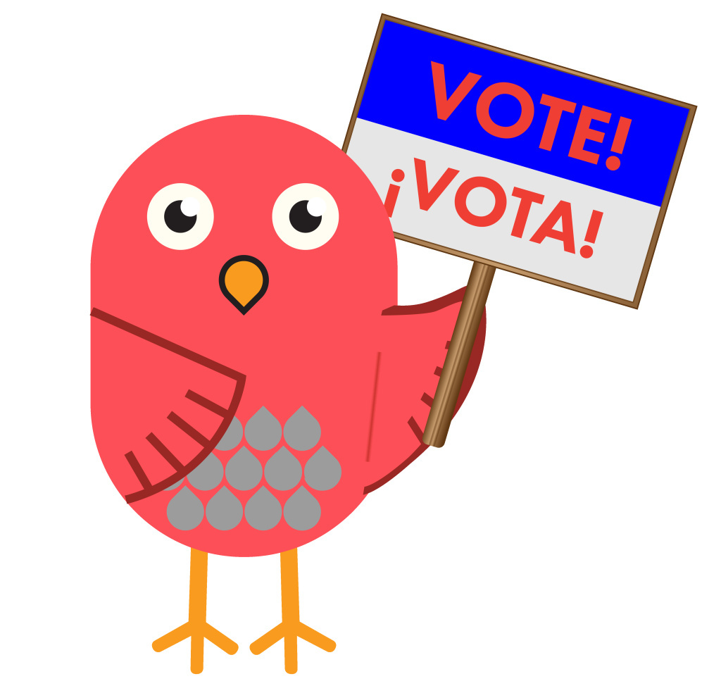Birdee, Culver City's cartoon mascot, is promoting the April 12, 2016 election in a bid to improve voter turnout.