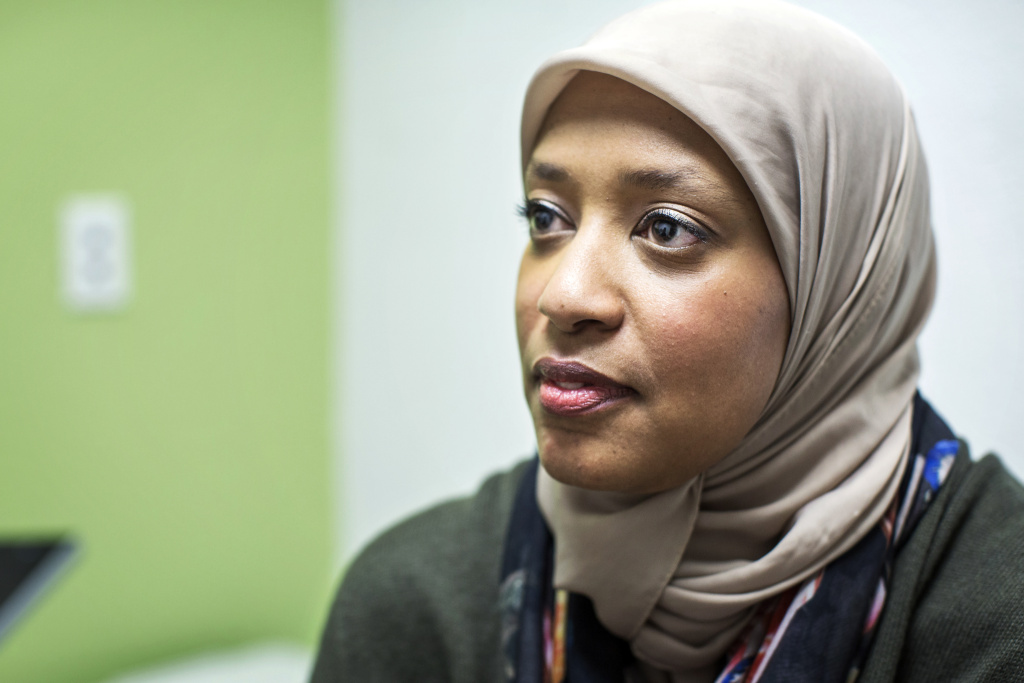 Dr. Sahar Abdelrahman is a staff physician at UMMA Community Clinic in South Los Angeles. Abdelrahman's family is from Sudan; she's been working at the clinic for two years.