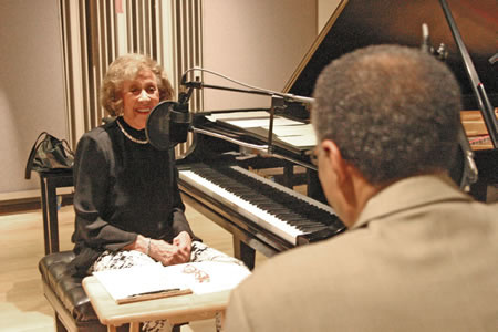 Marian McPartland interviewing Ramsey Lewis on her radio show