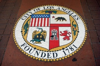 The Los Angeles city seal.