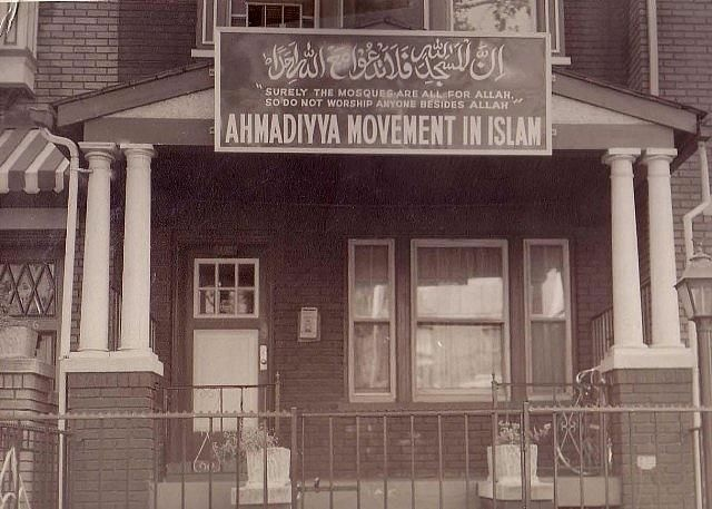 Ahmadi Muslims have a long history in the U.S. This Ahmadiyya mosque, established in 1921 in New York City, is one of the first of its kind in the States.