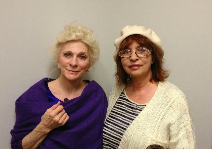 Judy Collins and Patt Morrison