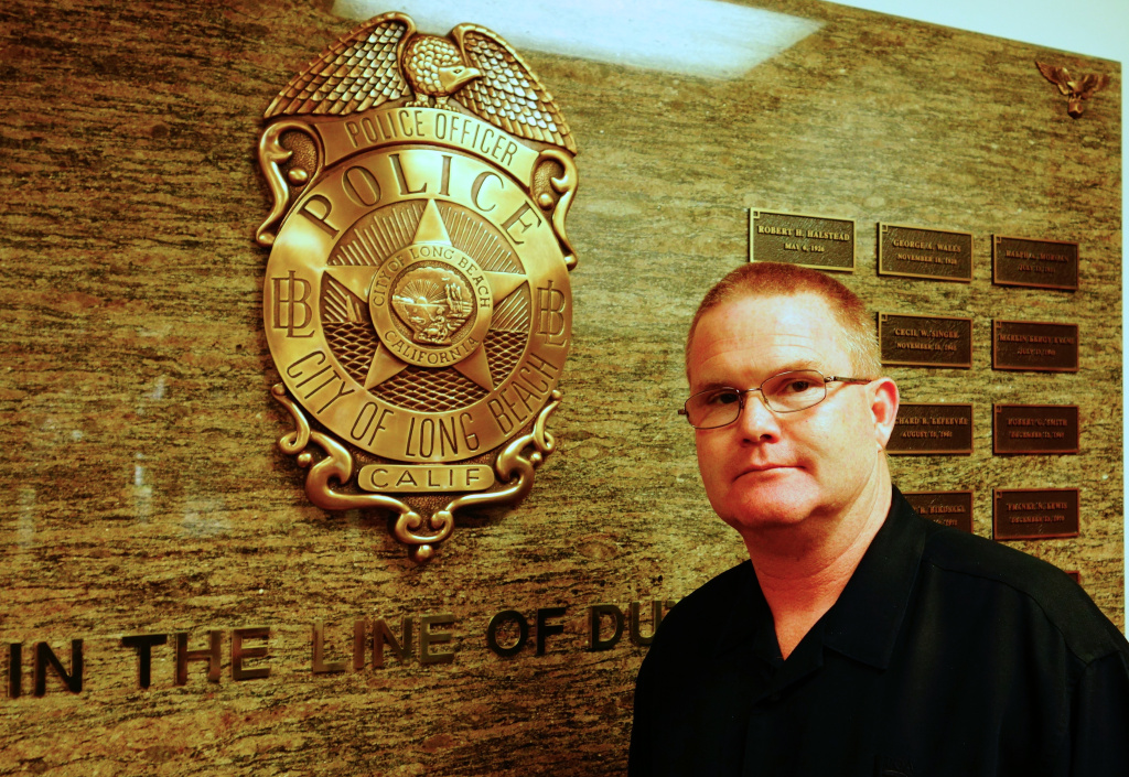 Steven James, president of the Long Beach Police Officers Association.