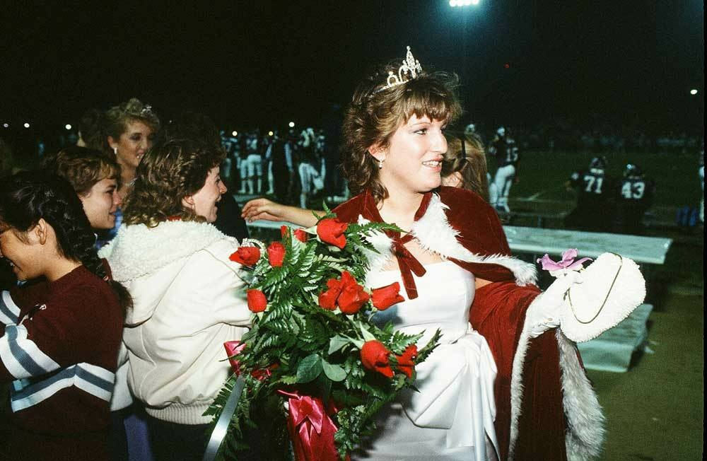 Torrance High School homecoming queen for 1984.