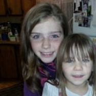 "This undated family photo provided by the Pershing County Sheriff's Office shows Shelby Fitzpatrick, left, and Chloe Glanton, two of the children who found ""alive and well"" after an extensive search in northern Nevada."