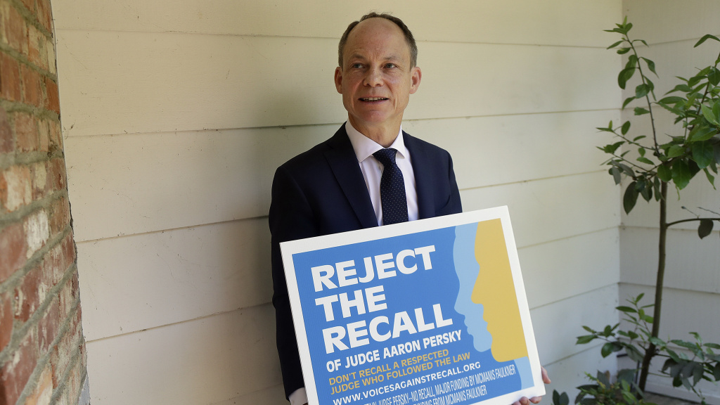 Voters in Santa Clara County are deciding Tuesday whether to remove Judge Aaron Persky from office after he sentenced a former Stanford University swimmer convicted of sexual assault to a short jail sentence instead of prison.