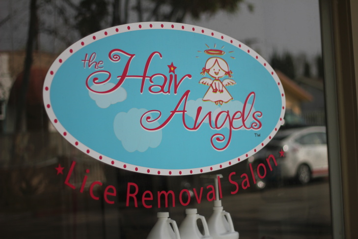 Michelle Aloisio (left) and Hillary Scofield of Pasadena's Hair Angels lice removal salon.