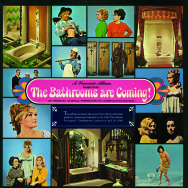 "The souvenir album cover from American Standard's musical ""The Bathrooms are Coming,"" produced in 1969—Young also has footage from the production and plans to screen it at the Cinefamily event"