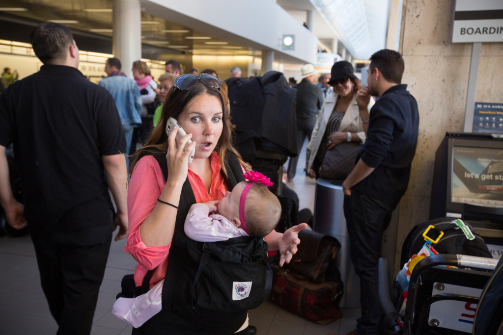 Melanie Yantha describes the scene at LAX after the shooting on November 1st, 2013.