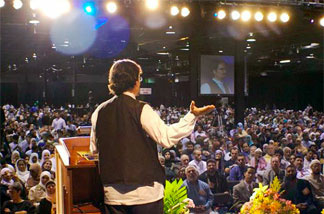 Sheik Hamza Yusuf is considered a rock star by young Muslims in the U.S. and around the world.