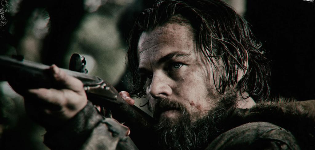 Leonardo DiCaprio as explorer Hugh Glass in Alejandro G. Iñárritu's The Revenant.