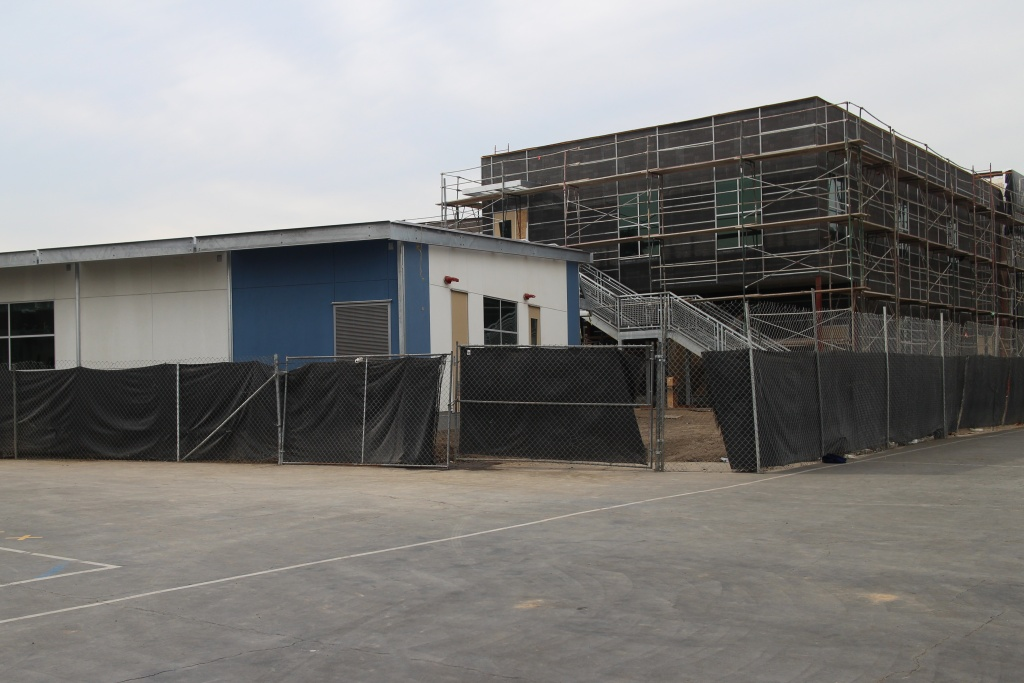 The new facility, currently under construction, will serve nearly 200 children 0-5, and also include a parent resource center and spaces for professional development for teachers in college.