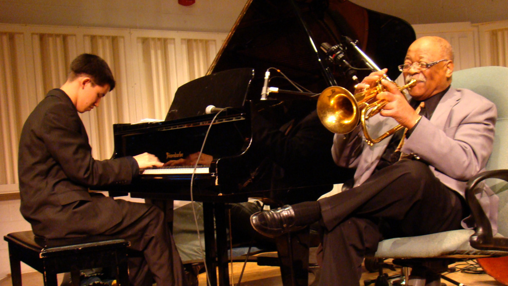 The relationship between pianist Justin Kauflin and trumpeter Clark Terry is at the heart of the documentary,