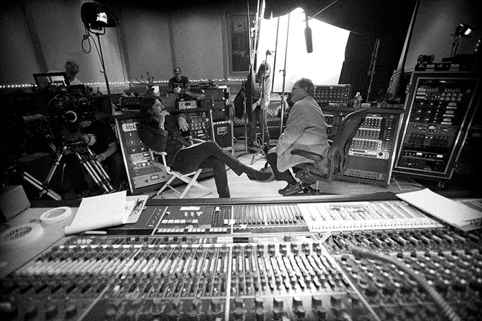 The legendary Neve sound mixing board.