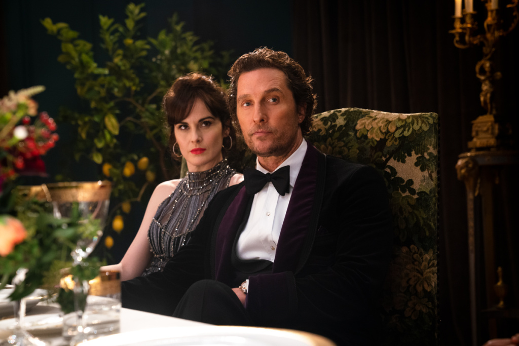 Matthew McConaughey and Michelle Dockery in