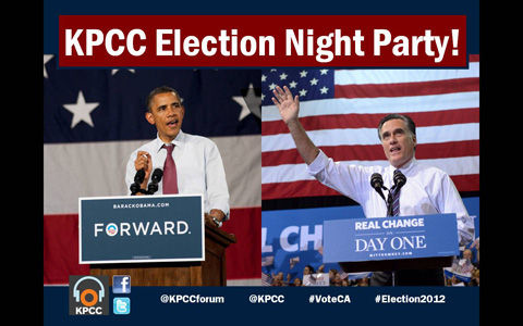 KPCC Election Night 2012
