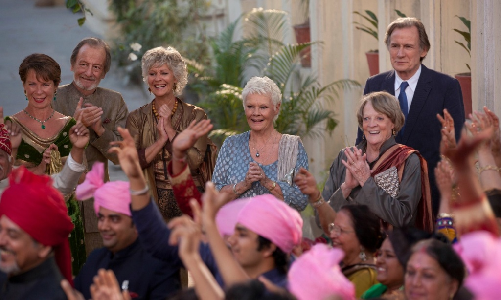 'The Second Best Exotic Marigold Hotel' stands out in Hollywood because of its emphasis on older characters.