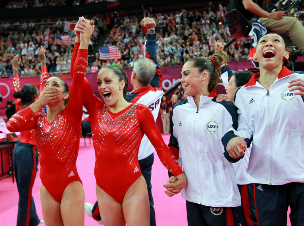 The members U.S. Olympic girls gymnastics team have received a lot of tabloid attention, both positive and negative.