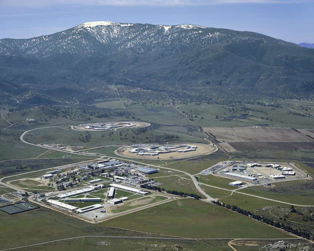 California Correctional Institution houses more than 3,600 inmates about 100 miles north of Los Angeles.