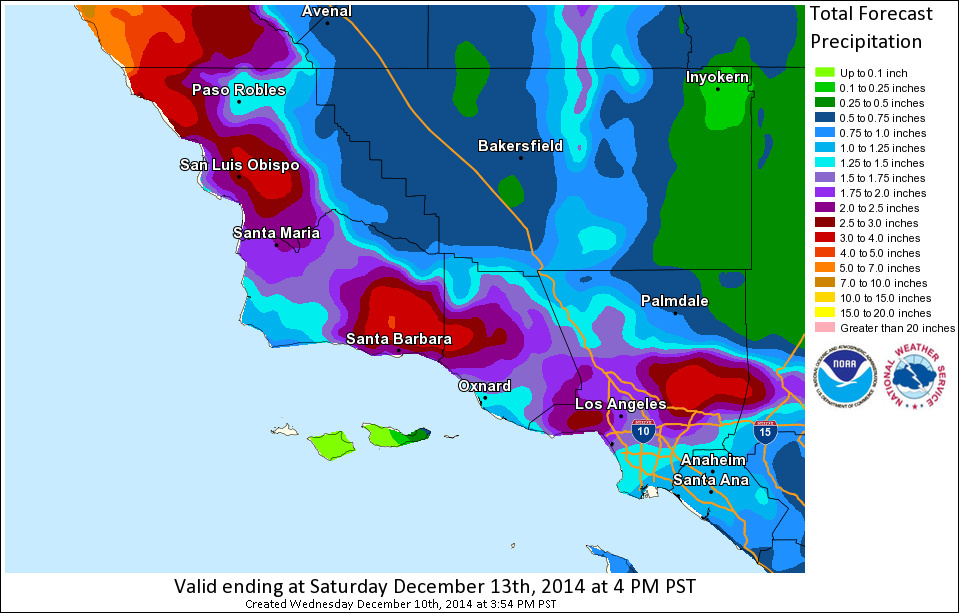 LA rain: 2nd powerful storm could bring huge waves, mudslides to