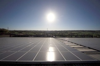 Solar Panels in California. A feasibility study from the University of California, Merced looked at how much water could be saved by placing solar panels over the state's water canals.