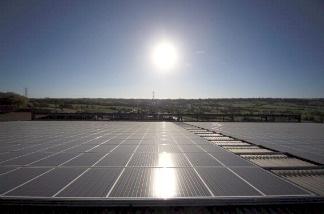 File photo: Solar panels