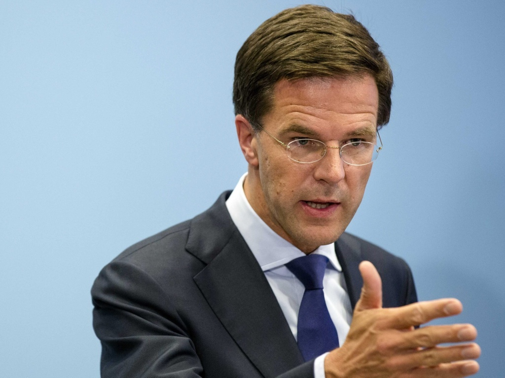 Maurits Hendriks Netherlands Prime Minister Mark Rutte L: Malaysia Airlines: Dutch Premier Decries 'utterly