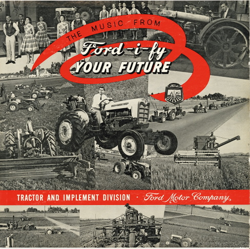The souvenir album cover from American Standard's musical