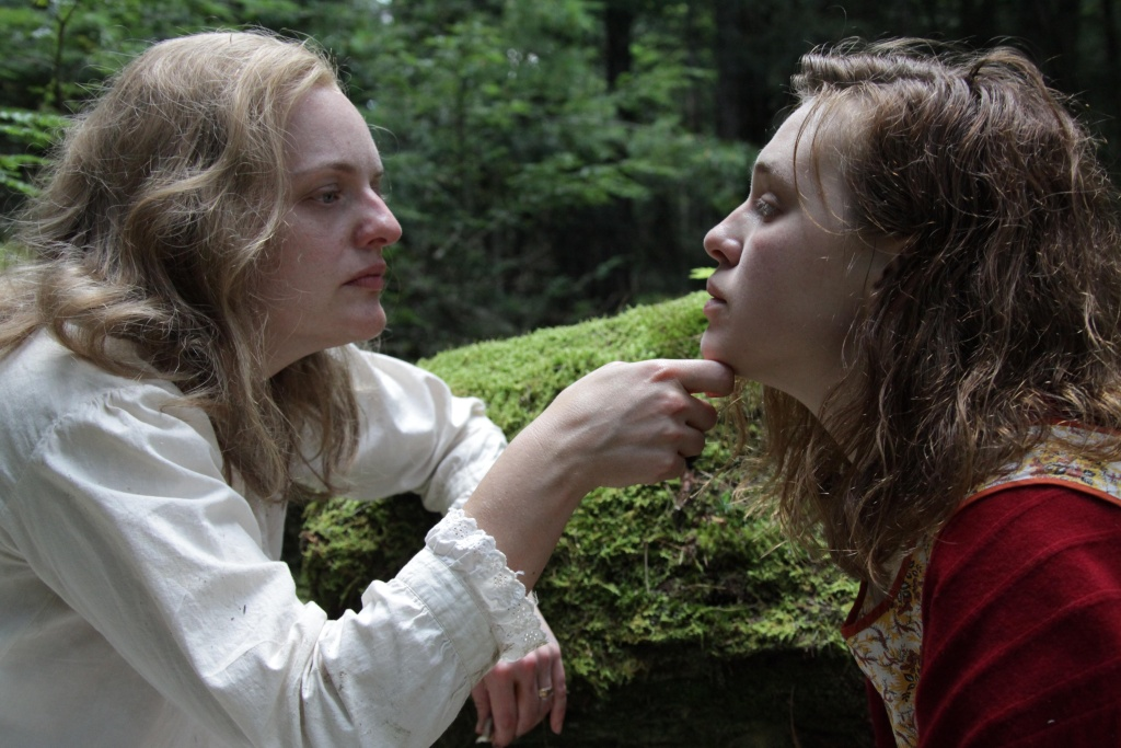 Elisabeth Moss and Odessa Young in