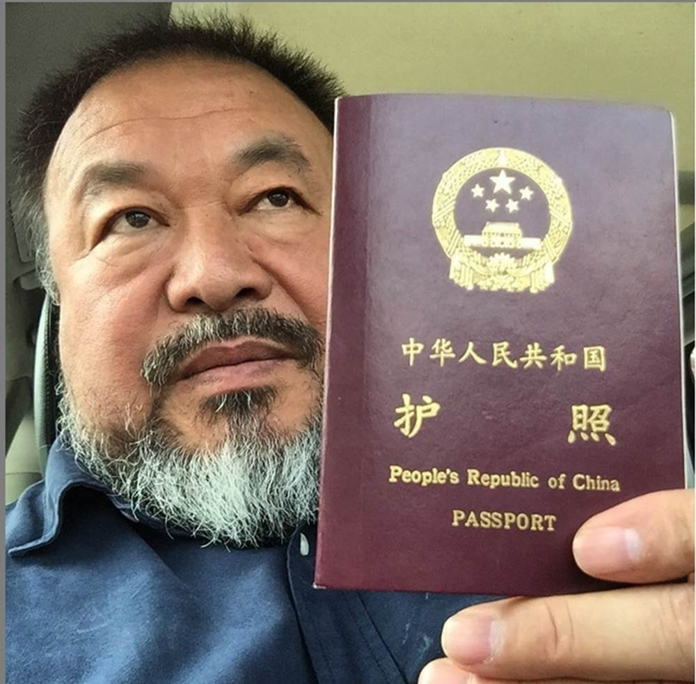 Chinese dissident artist Ai Weiwei received a new passport four years after authorities confiscated it.