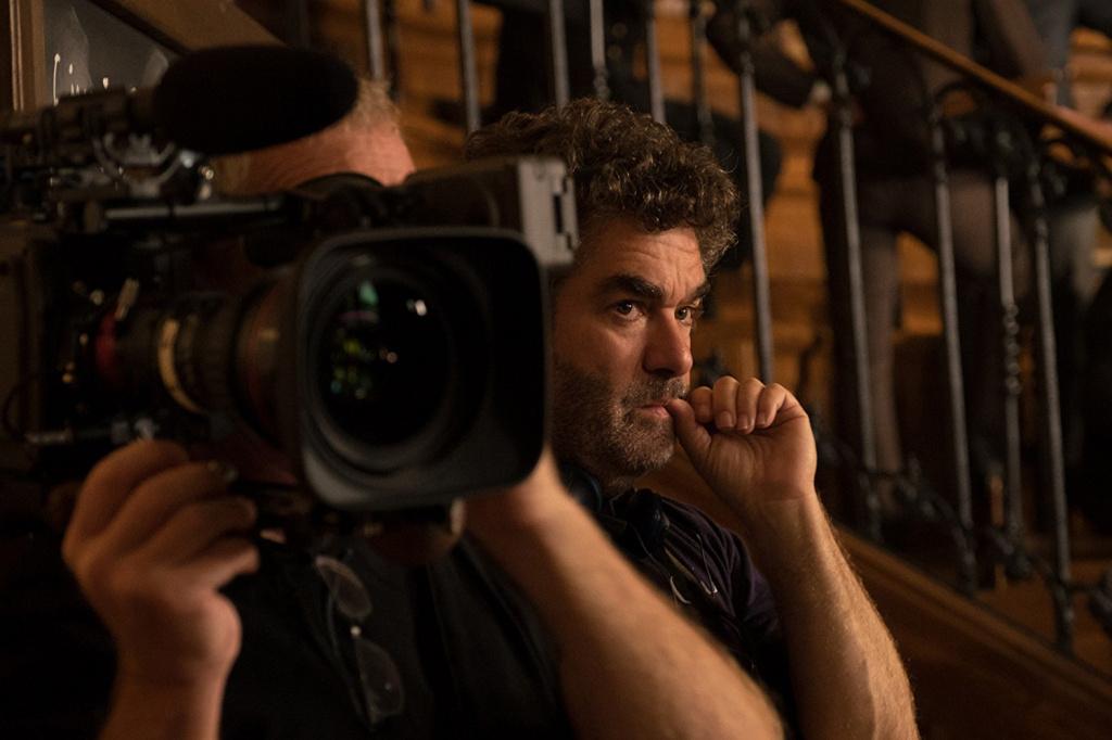 Director Joe Berlinger filming his doc
