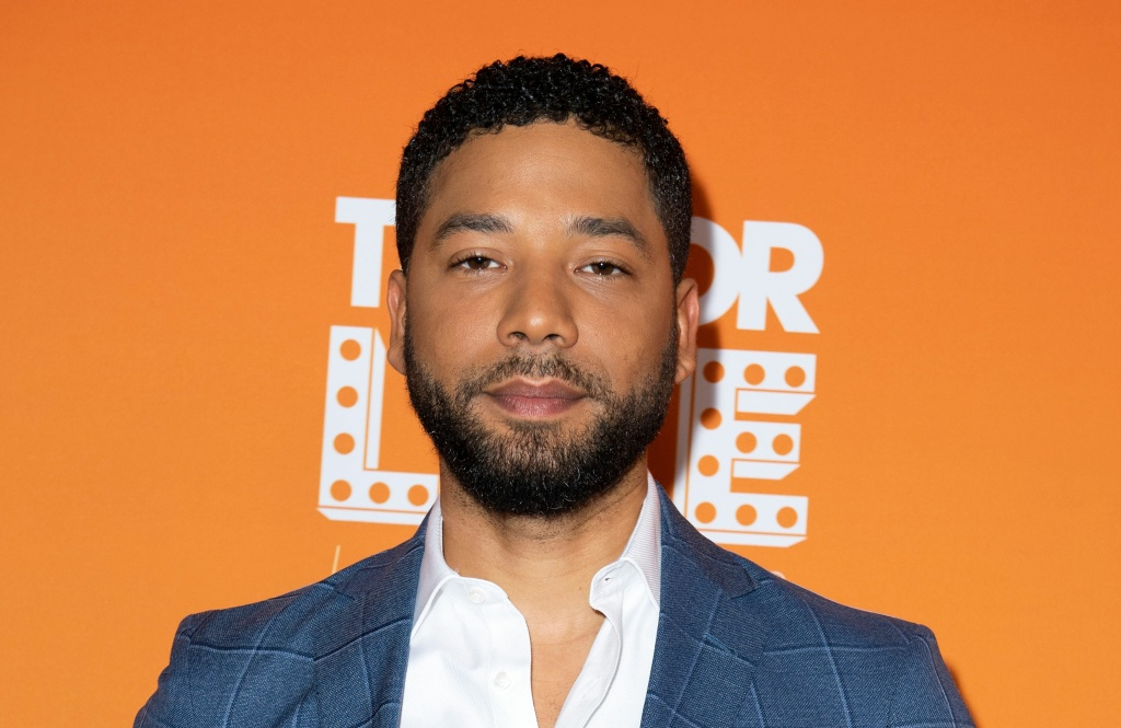 US actor Jussie Smollett attends the Trevor Live Los Angeles Gala 2018, in Beverly Hills, California on December 2, 2018