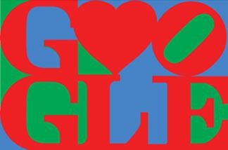 Google's Valentine's Day special logo.