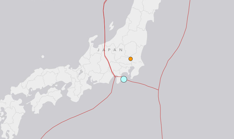 A magnitude 6.0 quake struck near Ito, Japan on Sunday.