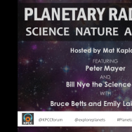 Planetary Radio Live: Science, Nature and Music