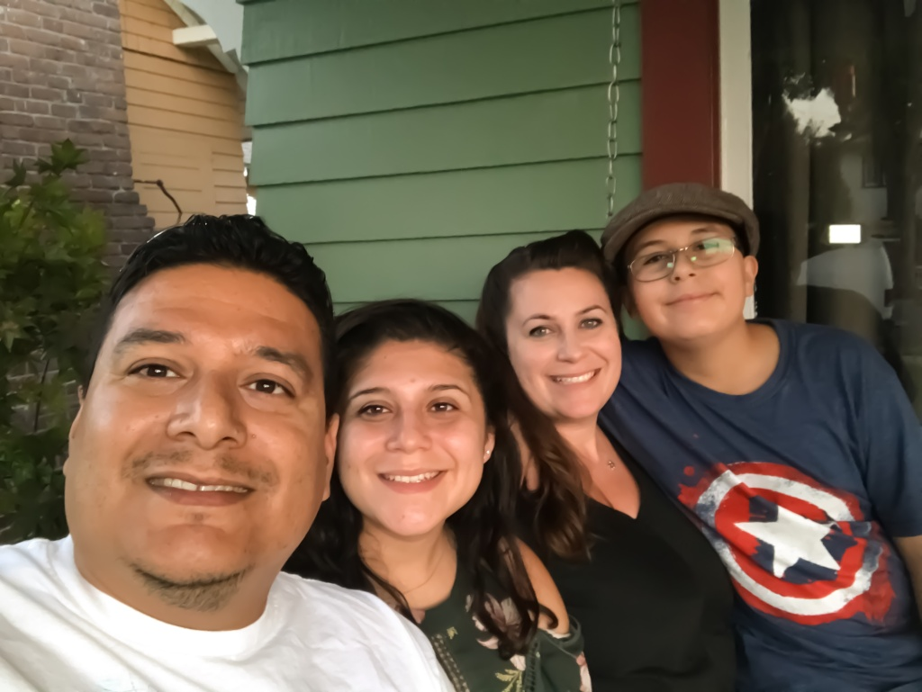 The Medrano family moved into their Covina home about a year ago and they say they are not concerned about the demographic changes underway in their city.