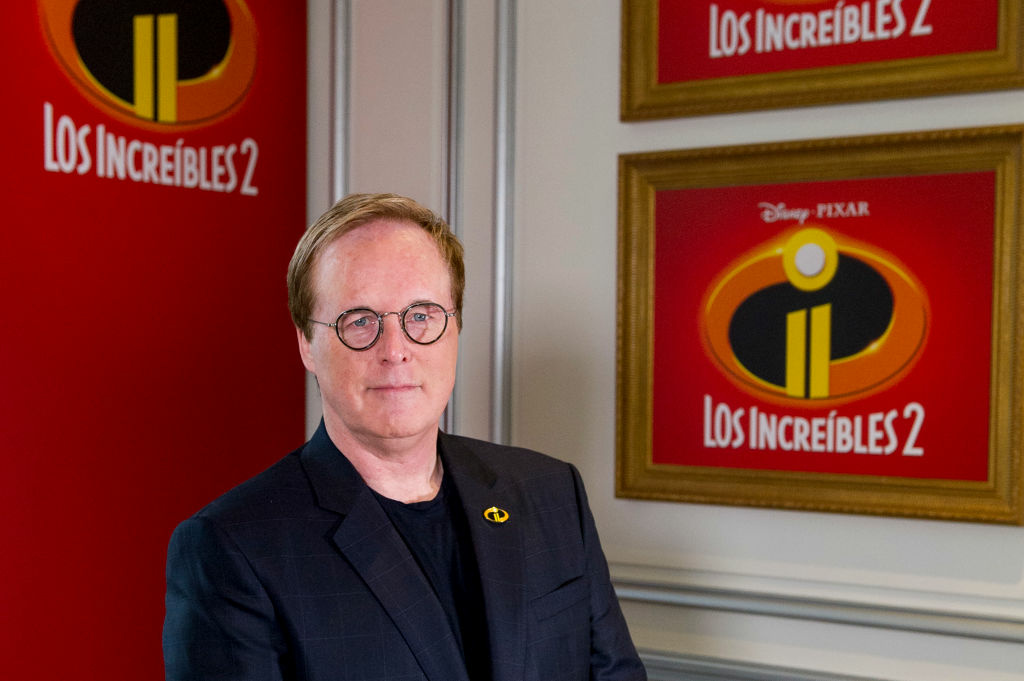 MADRID, SPAIN - JUNE 12:  Director Brad Bird attends 'Los Increibles 2' photocall at Westin Palace Hotel on June 12, 2018 in Madrid, Spain.  (Photo by Juan Naharro Gimenez/Getty Images for Disney )