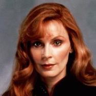 Gates McFadden as Dr Beverly Crusher