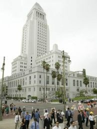File photo: Los Angeles City Hall